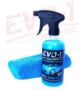 EVO-1 ULTIMATE SPRAY & SHINE - 500 ml inkl. Mikrofasertuch